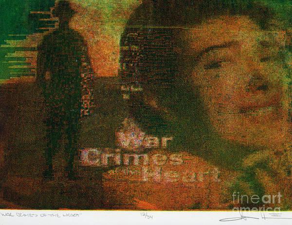 Digital Art - War Crimes Of The Heart by George D Gordon III