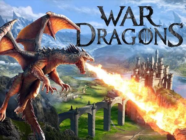 Sunset Digital Art - War Dragons by Super Lovely
