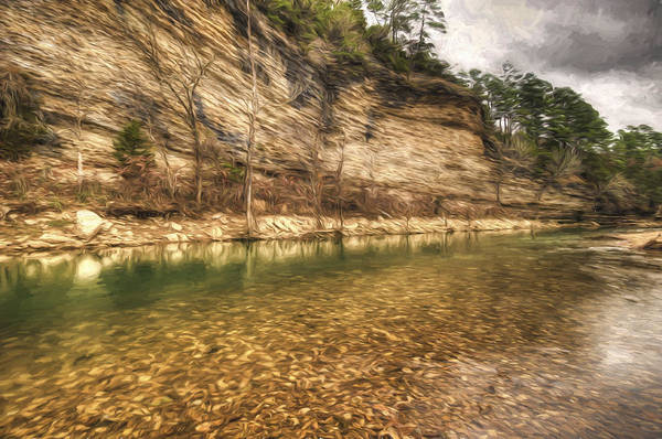 Painting - War Eagle Bluff by Joe Sparks