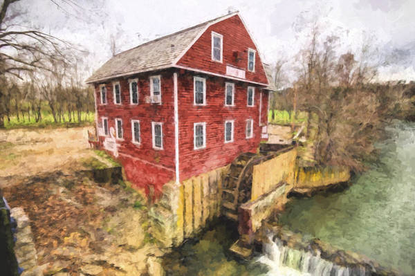 War Eagle Mill Art Print