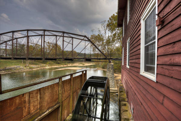 Photograph - War Eagle Mill by Jonas Wingfield