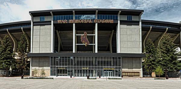 Laramie Photograph - War Memorial Stadium - University Of Wyoming by Mountain Dreams