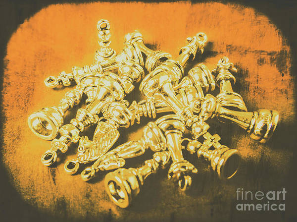 Rook Photograph - War Room Pawns by Jorgo Photography - Wall Art Gallery