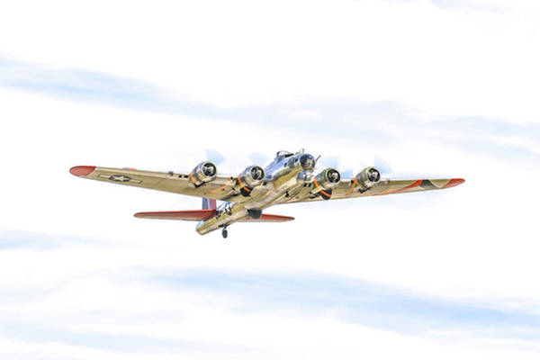 Photograph - Warbird Series B-17 by Tom and Pat Cory