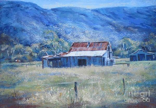 Painting - Warby Hut by Ryn Shell