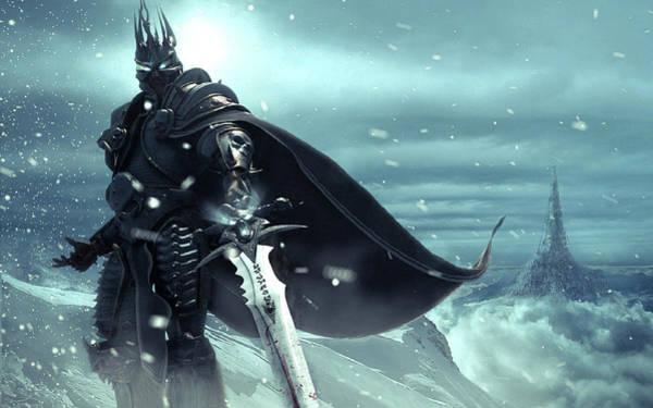 Water Digital Art - Warcraft by Maye Loeser