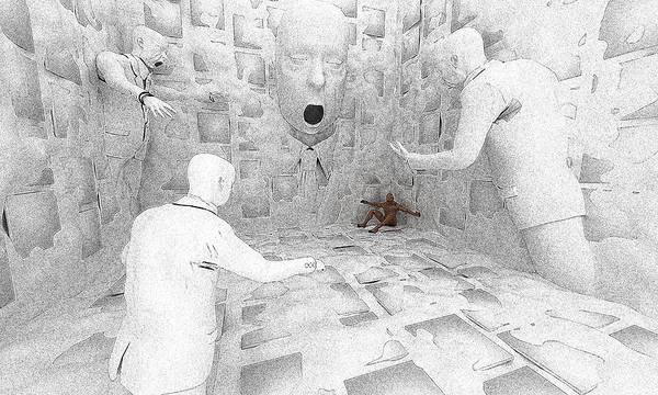 Psychiatrist Digital Art - Ward Round by Brainwave Pictures