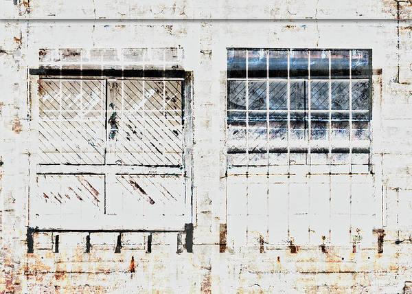 Wall Art - Mixed Media - Warehouse Doors And Windows by Carol Leigh