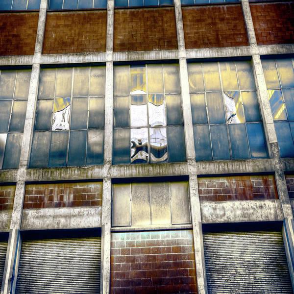 Wall Art - Photograph - Warehouse Wall by Wayne Sherriff