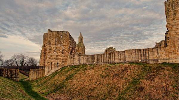 Architecture Digital Art - Warkworth Castle by Maye Loeser