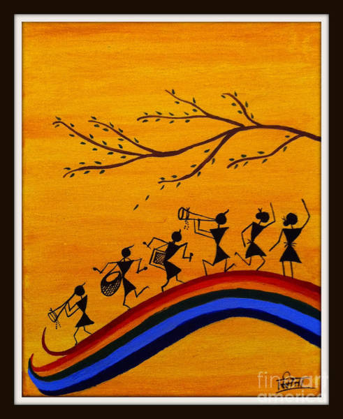 Warli Painting - Warli by Smita Sumant