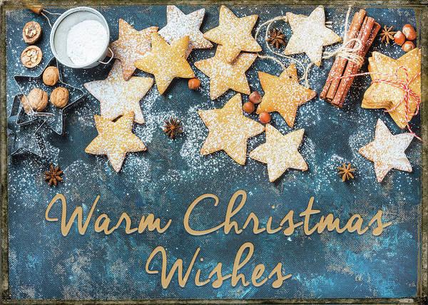 Christmas Photograph - Warm Christmas Wishes by Teresa Wilson