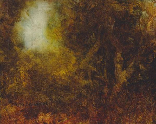 Ancient Woodland Painting - Warm Earth 67 by David Ladmore