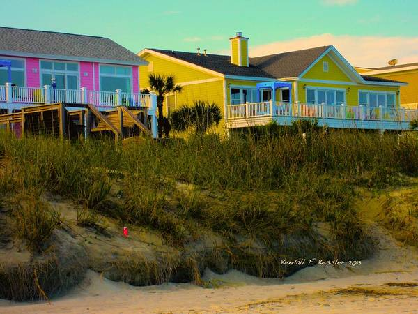 Photograph - Warm Evening At Isle Of Palms by Kendall Kessler