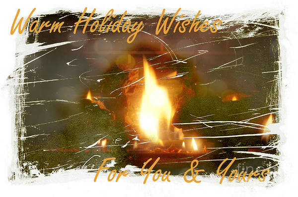 Photograph - Warm Holiday Wishes by Paulette B Wright