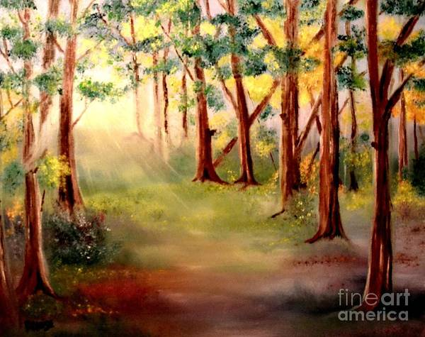 Painting - Warm Rays Of Light by Denise Tomasura