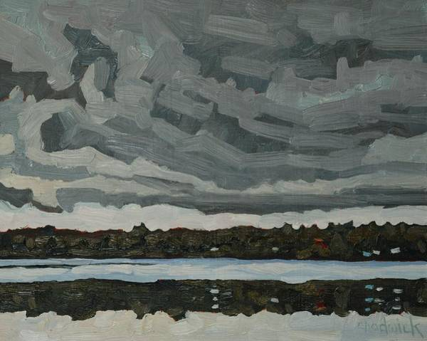 Stratocumulus Painting - Warm Sector Stratocumulus by Phil Chadwick
