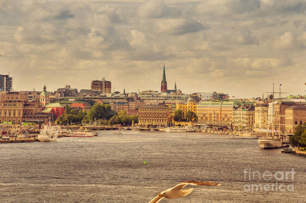Wall Art - Photograph - Warm Stockholm View by RicardMN Photography