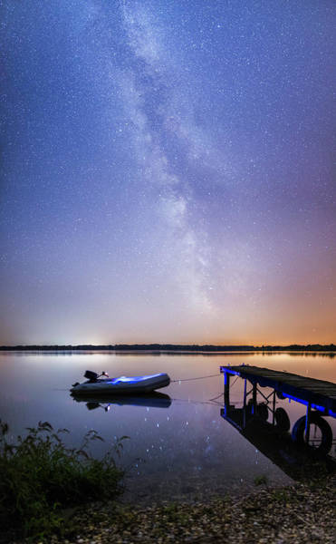 Wall Art - Photograph - Warm Summer Night by Davorin Mance