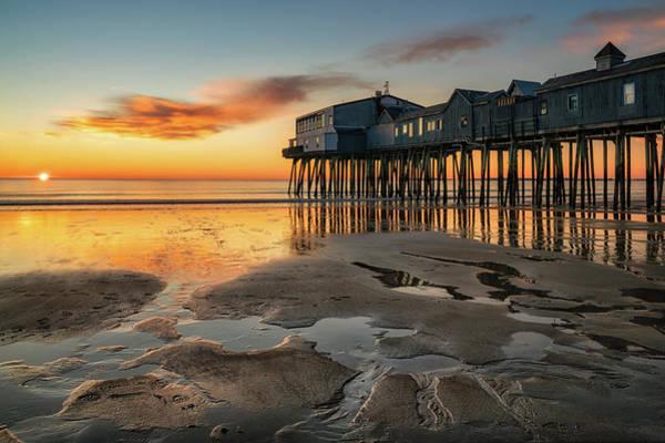 Photograph - Warm Sun Cold Beach by Darylann Leonard Photography
