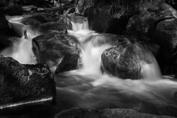 Photograph - Warme Bode, Harz - Monochrome Version by Andreas Levi