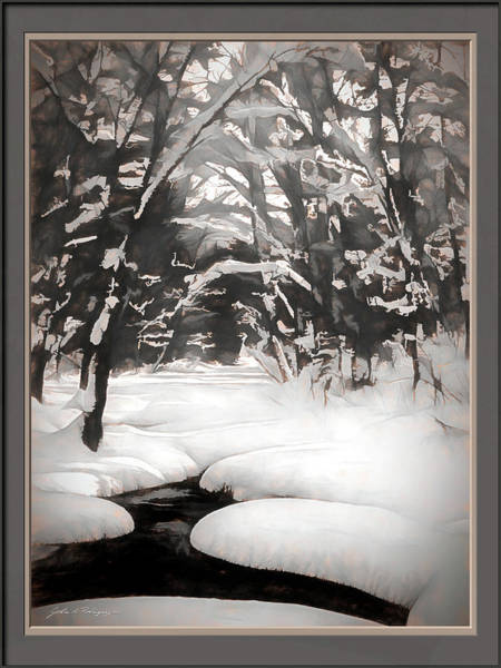 Warmth Of A Winter Day Art Print