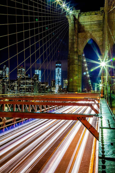 American Cars Photograph - Warp Speed Out Of Manhattan by Az Jackson