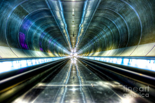 Holland Tunnel Wall Art - Photograph - Warp Speed by Roddy Atkinson