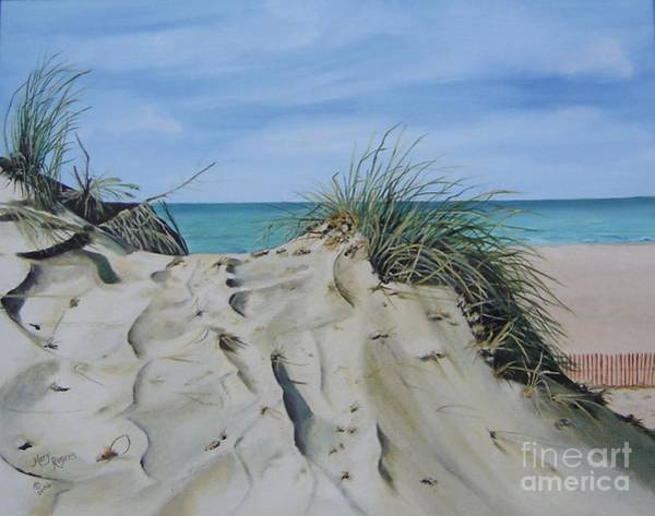 Mary Rogers Painting - Warren Dunes by Mary Rogers