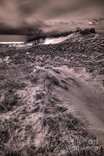High Dynamic Range Digital Art - Warren Dunes Reverie by William Fields