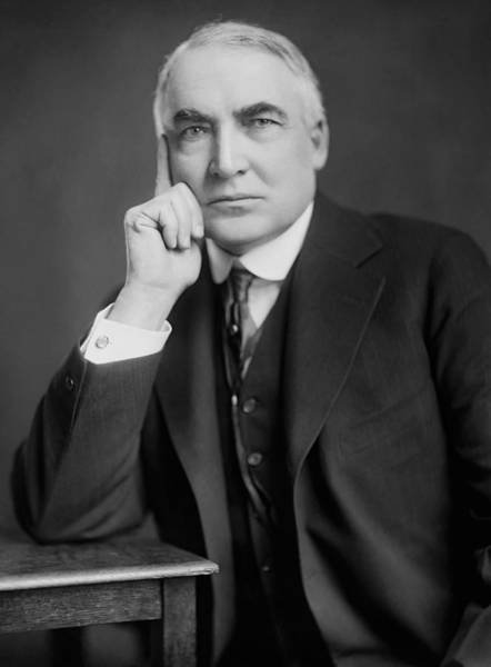 Republican Party Photograph - Warren Harding - 29th American President by War Is Hell Store