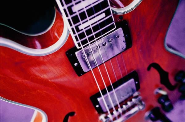 Allman Brothers Band Photograph - Warren Haynes '67 Gibson Es-355 by Lisa Johnson
