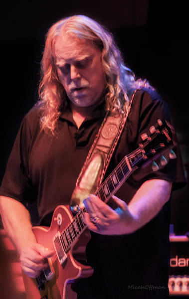 Allman Brothers Band Photograph - Warren Haynes - Oct 2017 by Micah Offman