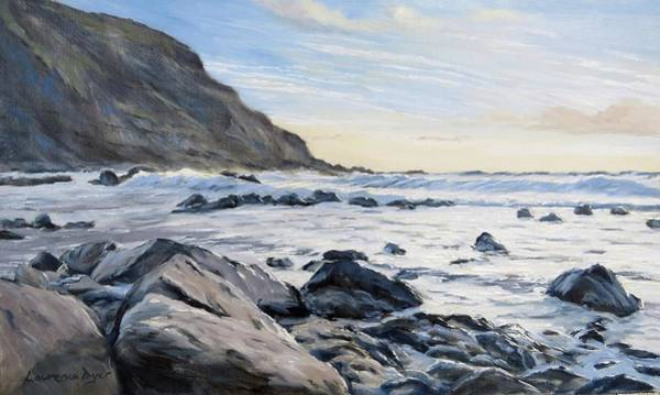 Painting - Warren Point Sunset Duckpool by Lawrence Dyer