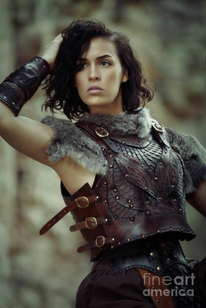 Game Of Thrones Photograph - Warrior Princess by Amanda Elwell