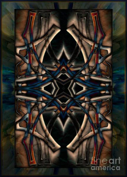 Mixed Media - Warrior by Wbk