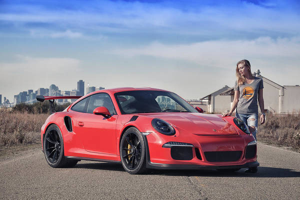 Photograph - #warriors #kim And #porsche #gt3rs #print by ItzKirb Photography