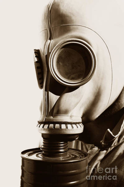 Gasmask Photograph - Wars Of Yesteryear by Jorgo Photography - Wall Art Gallery