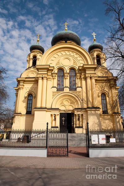 Wall Art - Photograph - Warsaw Eastern Orthodox Church by Arletta Cwalina