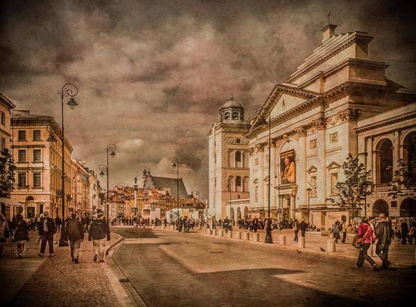 Photograph - Warsaw, Poland - Krakowskie Przedmiescie by Mark Forte