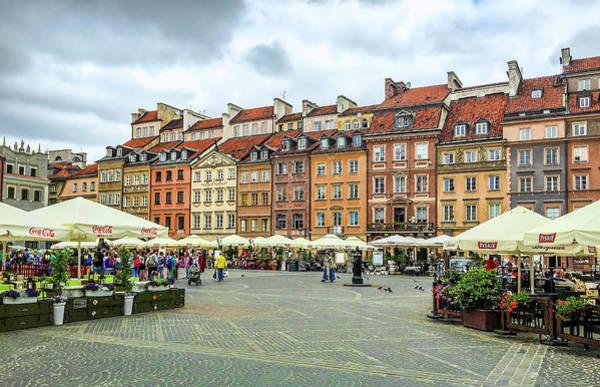 Photograph - Warsaw, Poland by Gordon Engebretson