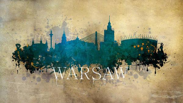 Wall Art - Photograph - Warsaw Poland by Jaroslaw Blaminsky