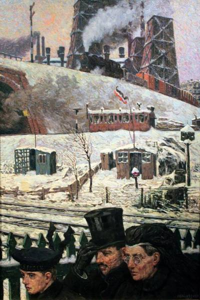 I Dream Painting - Wartime Winter by Mountain Dreams