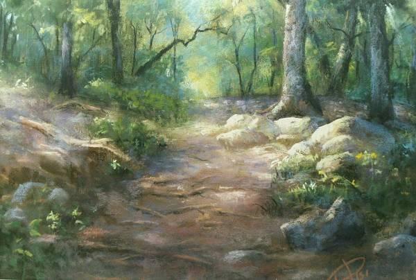 Pastel - Warwick Woods by Bill Puglisi