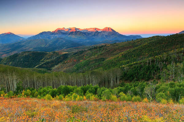 Photograph - Wasatch Dawn by Johnny Adolphson