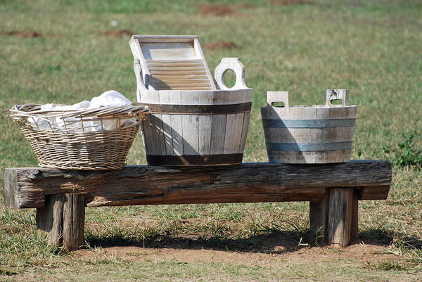 Photograph - Wash Day by Teresa Blanton