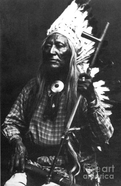 Photograph - Washakie (c1804-1900) by Granger