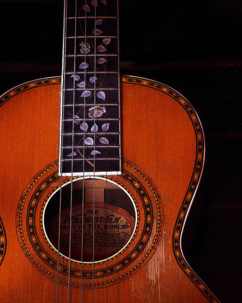 Photograph - Washburn Guitar by Jim Mathis