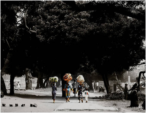 Photograph - Washday In Accra by Wayne King