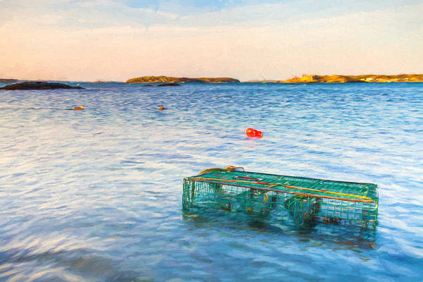 Casco Bay Digital Art - Washed Ashore by Charlie Widdis